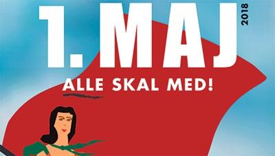 1 maj 2018 alle skal med aalborg foa nordjylland