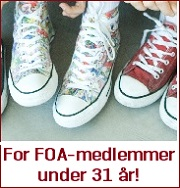 For FOA-medlemmer under 31 år