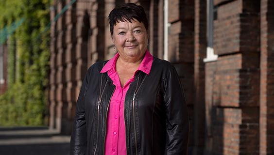 Forbundsformand Mona Striib